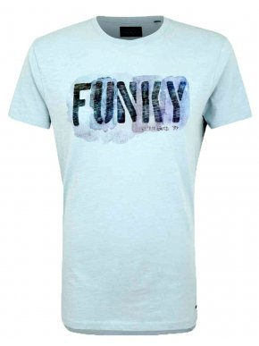 More about FUNKY BUDDHA Ανδρικό γαλάζιο T-Shirt, FBM031-04119 Lt Blue Urban Utility