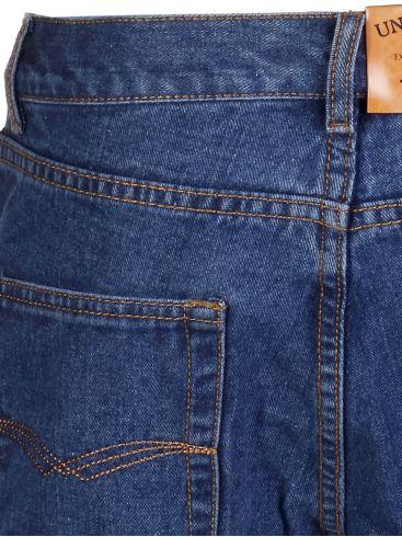 RED ROCK Oversize Κλασικό ψηλόμεσο τζιν παντελόνι