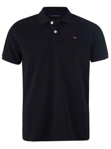 FUNKY BUDDHA Ανδρικό κόκκινο πικέ πόλο μπλουζάκι