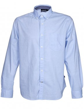 NAUTICA Ανδρικό γαλάζιο ελαστικό μακρυμάνικο πουκάμισο