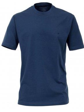 CASA MODA Ανδρικό μακρύ μπλέ μακό άνετο μπλουζάκι