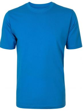 CASA MODA Ανδρικό μακρύ μακό άνετο μπλέ μπλουζάκι