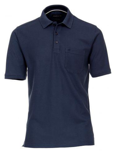 CASA MODA Πικέ πόλο λαδί μπλούζα, οργανικό βαμβάκι