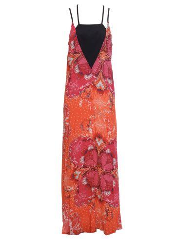 SARAH LAWRENCE Μακρύ φόρεμα με χιαστί ραντάκια