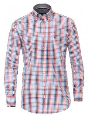 CASA MODA Ανδρικό καρό μακρυμάνικο πουκάμισο
