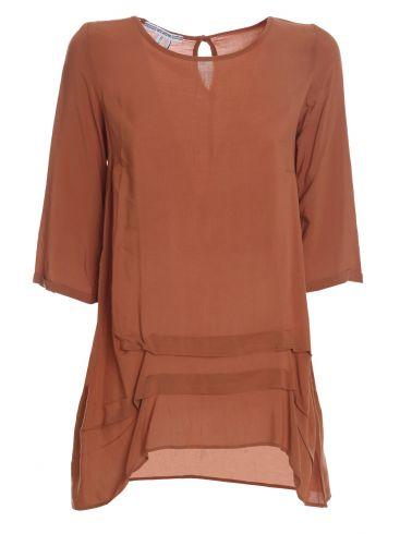 ATTRATTIVO Κοντή μπλούζα, δέσιμο πίσω με φιόγκο 9907682 Multi Color
