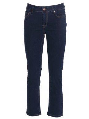 SARAH LAWRENCE Βlue black ελαστικό ψηλόμεσο skinny leg τζιν