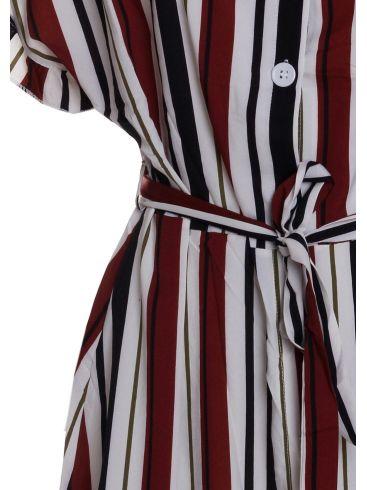 SAMAR MODA Midi Φόρεμα Ένα Ώμο, Πετρόλ
