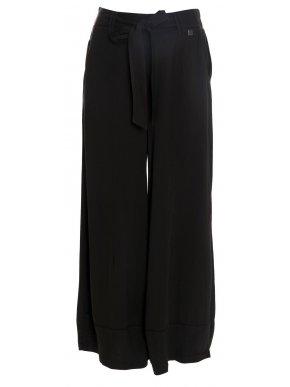ALE Γυναικεία άνετη σκούρο λαδί βισκόζη παντελόνα