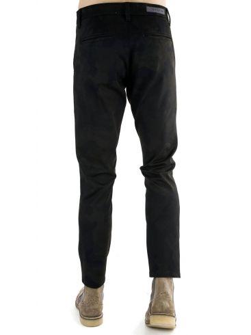 STEFAN Ανδρικό μπέζ τσίνος παντελόνι κουστουμιού, slim fit