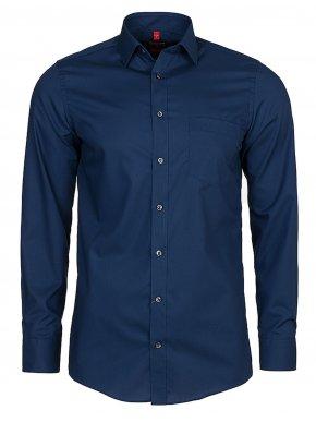 REDMOND Καρό πουκάμισο, κεραμιδί-μπλέ-πορτοκαλί, casual regular fit