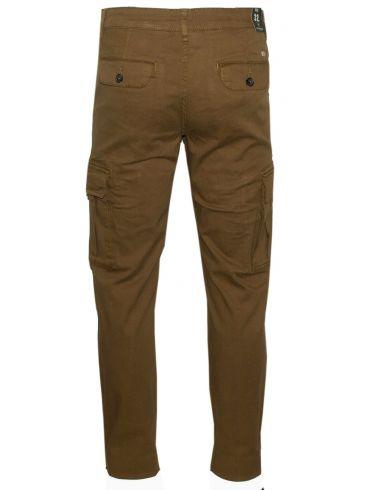 VAN HIPSTER Ανδρικό σκούρο μπλέ ελαστικό παντελόνι τζιν