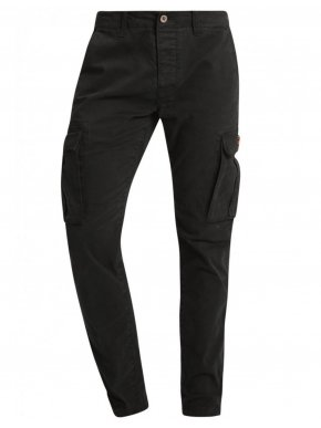 More about FUNKY BUDDHA Μαύρο cargo παντελόνι, FBM001-006897 Black