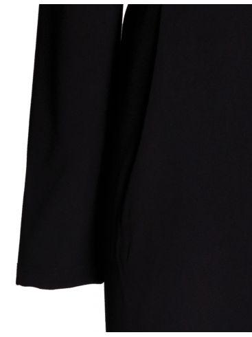 GR FASHION Ελαστικό μαύρο φόρεμα