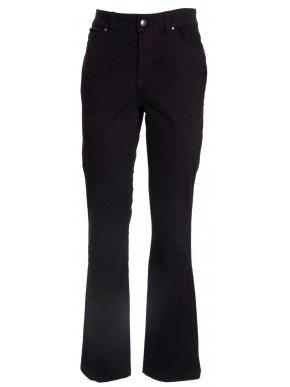 SARAH LAWRENCE Μαύρο ελαστικό ψηλόμεσο παντελόνι καπαρντίνας