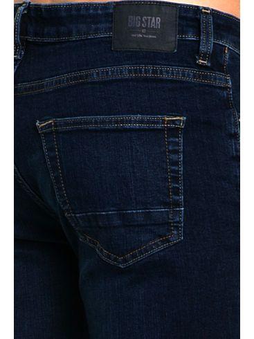 BIG STAR Ανδρικό ελαστικό slim fit μπλέ τζιν παντελόνι