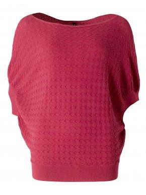 MisMash Αμάνικο πλεκτό γκρί λούρεξ μπλουζάκι, εσωτερικό μακώ