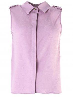 More about SMASH Ισπανικό αμάνικο γκοφρέ λιλά πουκάμισο
