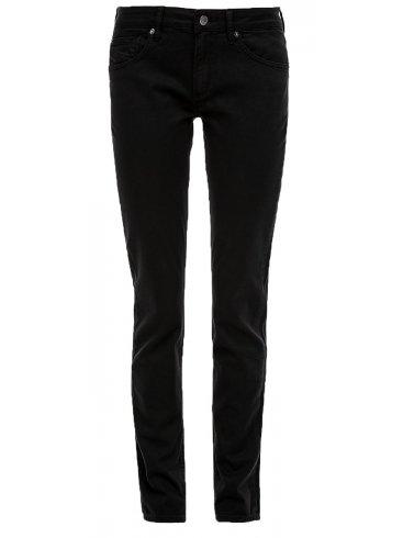 S.OLIVER Μαύρο ελαστικό ψιλοκάβαλο skinny τζιν παντελόνι