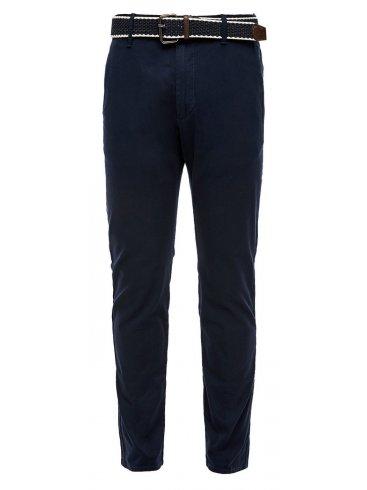 S.OLIVER Ανδρικό μπλέ navyελαστικό τσίνος παντελόνι