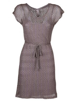 More about MisMASH Ισπανικό σκούρο γκρί λούρεξ midi φόρεμα