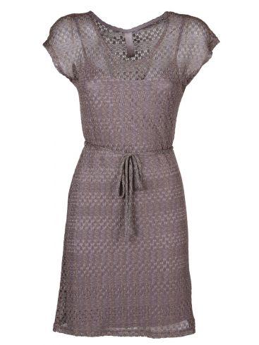MisMASH Ισπανικό σκούρο γκρί λούρεξ midi φόρεμα