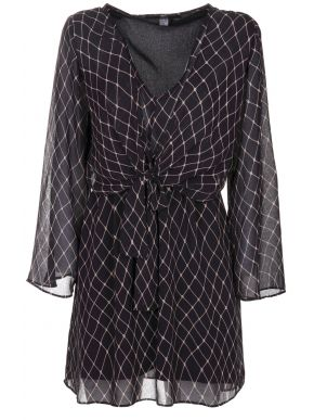 More about ALE Μακρυμάνικο μαύρο midi φόρεμα 8910040