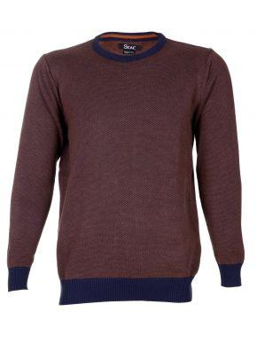REDMOND Βεραμάν πλεκτή μπλούζα V
