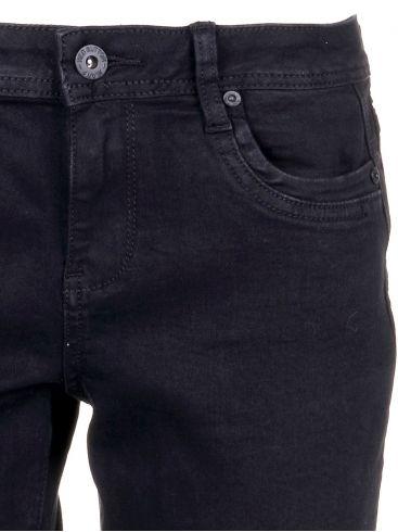 RED BUTTON Ολλανδικό μαύρο ελαστικό skinny fit τζιν
