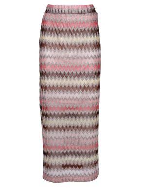 RINO PELLE Ολλανδική πολύχρωμη μακριά ζακάτ φούστα HESNA.700S20