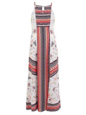 More about MisMASH Ισπανικό πολυχρώμο μακρύ ελαφρύ φόρεμα