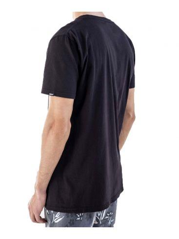 BASEHIT Ανδρικό μαύρο T-Shirt 201.BM33.80GD3 Black.