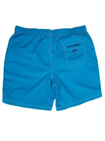 NAUTICA Ανδρική γαλάζια μαγιώ βερμούδα Τ01100 4OFHAWAIIANOC
