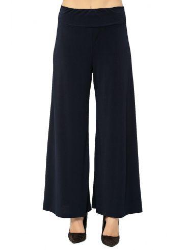 RAXSTA Γυναικεία μπλέ ελαστική ψιλόμεση παντελόνα