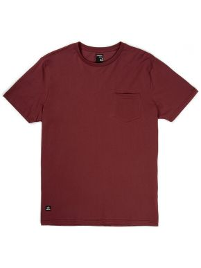 BASEHIT Ανδρική πορτοκαλί κοντομάνικη μπλούζα tshirt φλάμα, casual fit. EM33.79 DUSTY WINE
