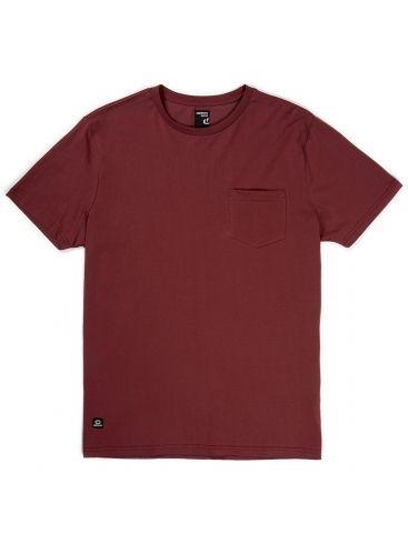 BASEHIT Ανδρική μπορντό κοντομάνικη μπλούζα tshirt φλάμα EM33.79 DUSTY WINE