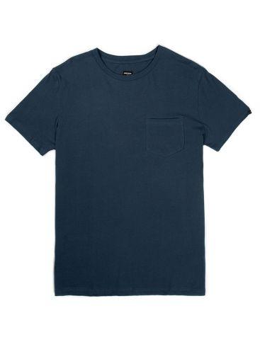 BASEHIT Ανδρική πορτοκαλί κοντομάνικη μπλούζα tshirt φλάμα, casual fit. EM33.79 MIDNIGHT BLUE
