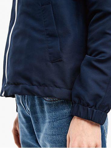 S.OLIVER Γυναικείο μπλέ navy μεσάτο ελαφρύ μπουφάν