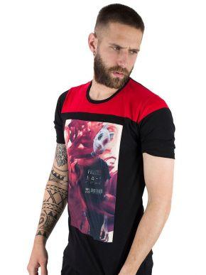 More about STEFAN Ανδρικό μαύρο μπλουζάκι T-Shirt 3507