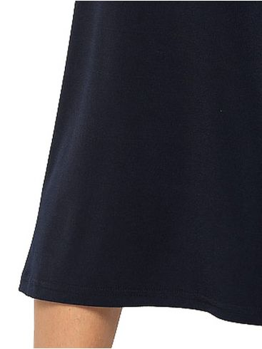 RAXSTA Μπλέ ελαστική ζίπ κιλότ, λάστιχο μέσης