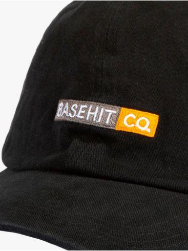 BASEHIT Μαύρο Καπέλο. 191.BU01.18 BLACK