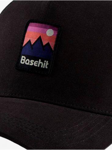 BASEHIT Μαύρο Καπέλο 192.BU01.02 OFF BLACK