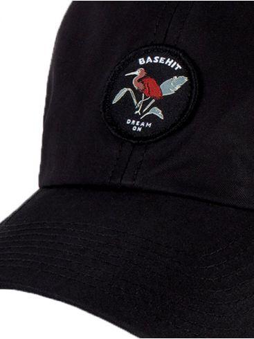 BASEHIT Μαύρο καπέλο 201.BU01.66 BLACK
