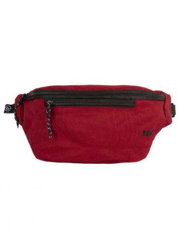 BASEHIT Κόκκινο τσαντάκι μέσης 191.BU02.005 DARK RED