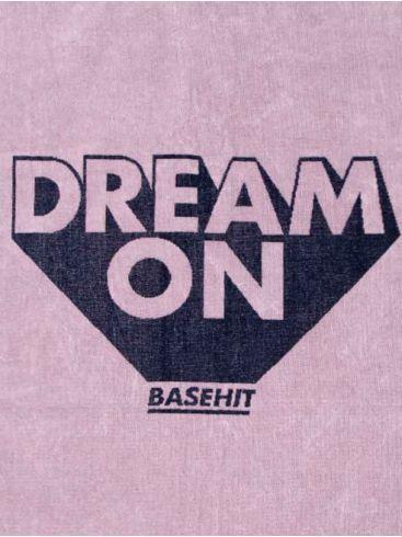 BASEHIT Ρόζ πετσέτα παραλίας 191.BU04.65