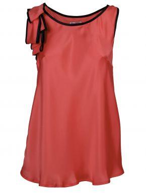 ZINO JORDAN Κοντομάνικο εμπριμέ φόρεμα μουσελίνας