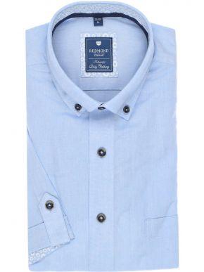 REDMOND Ανδρικό γαλάζιο λεπτό μακρυμάνικο πουκάμισο
