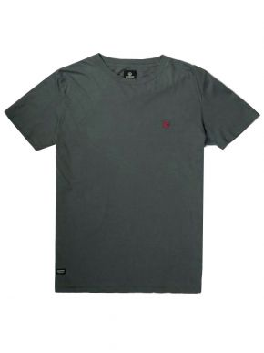 BASEHIT Ανδρικό κυπαρίσσι T-Shirt μπλουζάκι 201.MB33.80GD Army Green