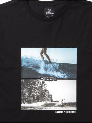 BASEHIT Ανδρικό T-Shirt μπλουζάκι 201.BM33.36