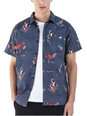 More about BASEHIT Κοντουμάνικο πουκάμισο 201.BM61.02 BLUE